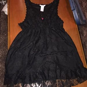 NWT black v neck dress